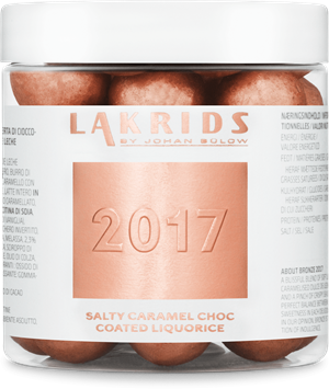 2017 Salty caramel choc coated liquorice