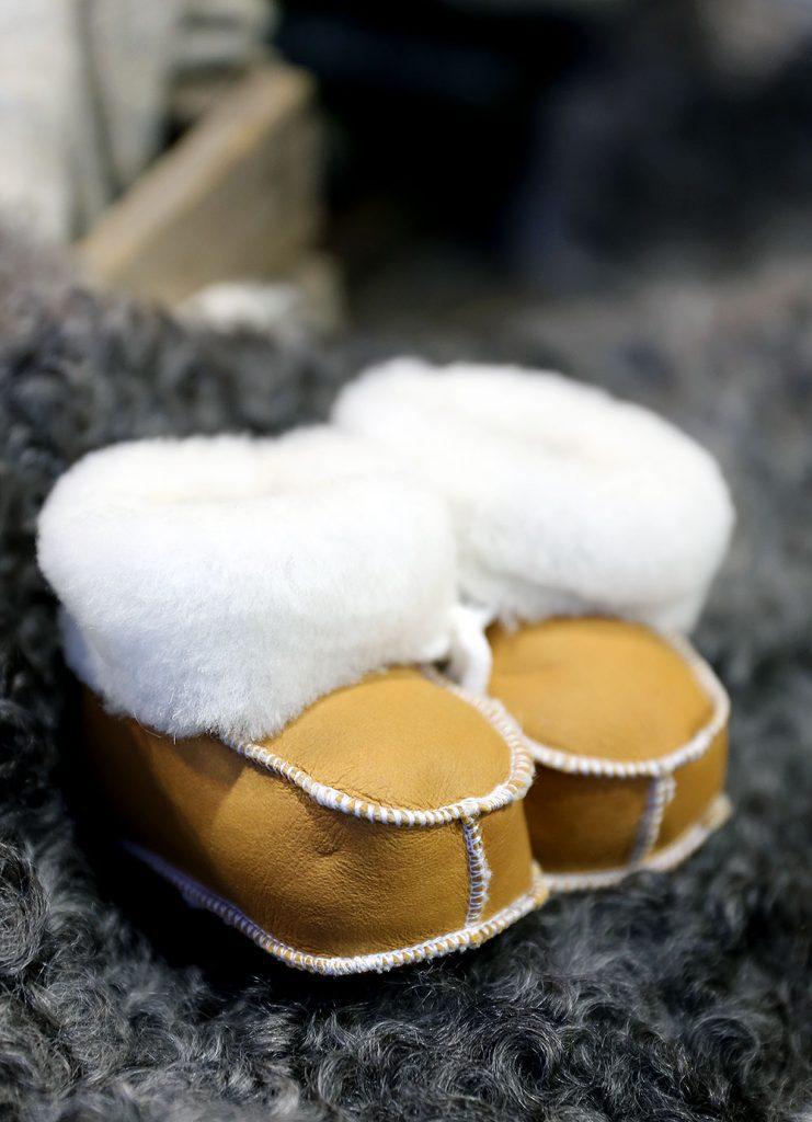 Mjuka babytofflor