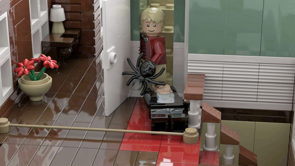 Home alone - LEGO