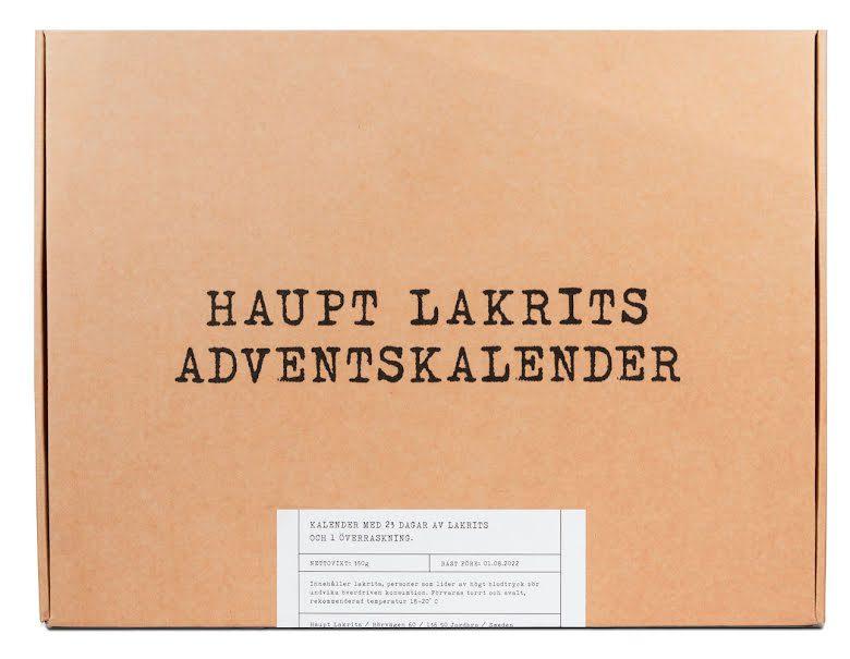 Ninasmat - Haupt lakrits adventskalender