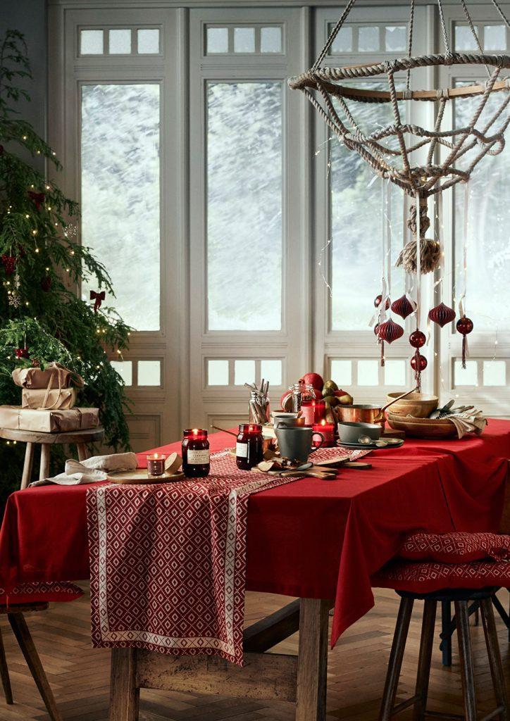 Klassiskt rött julbord