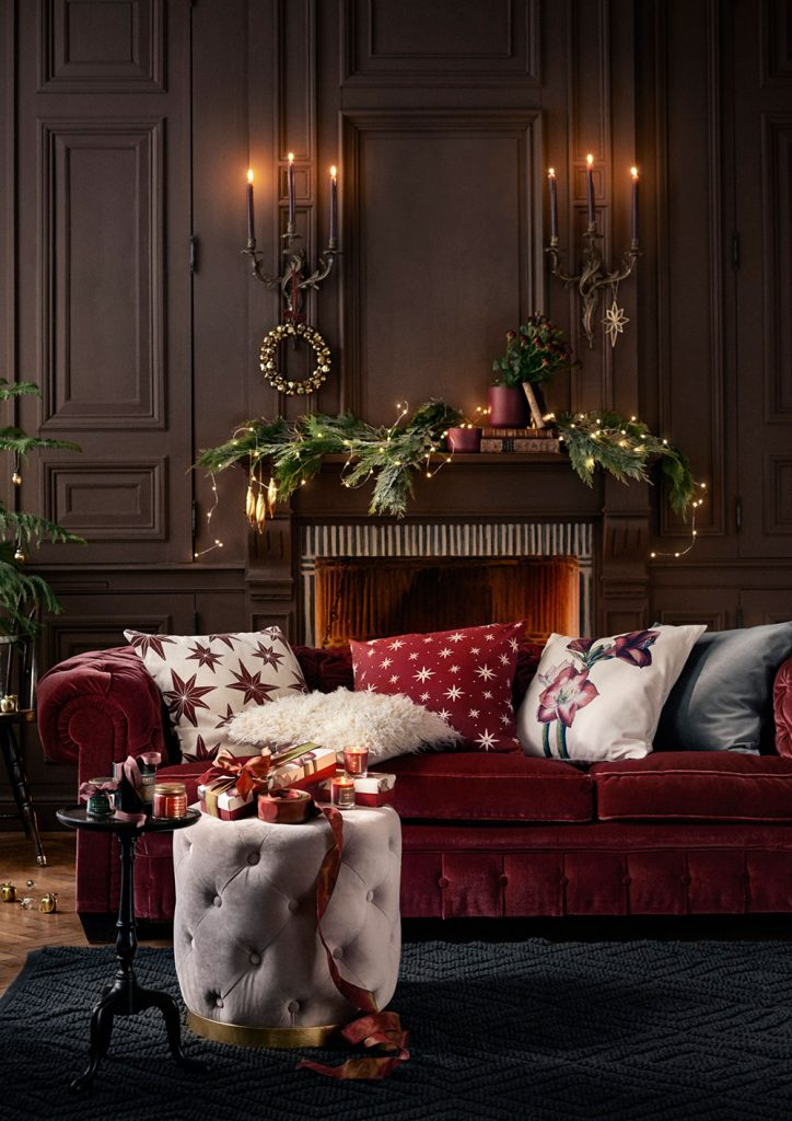 Downton Abbey hjärta H&M Home
