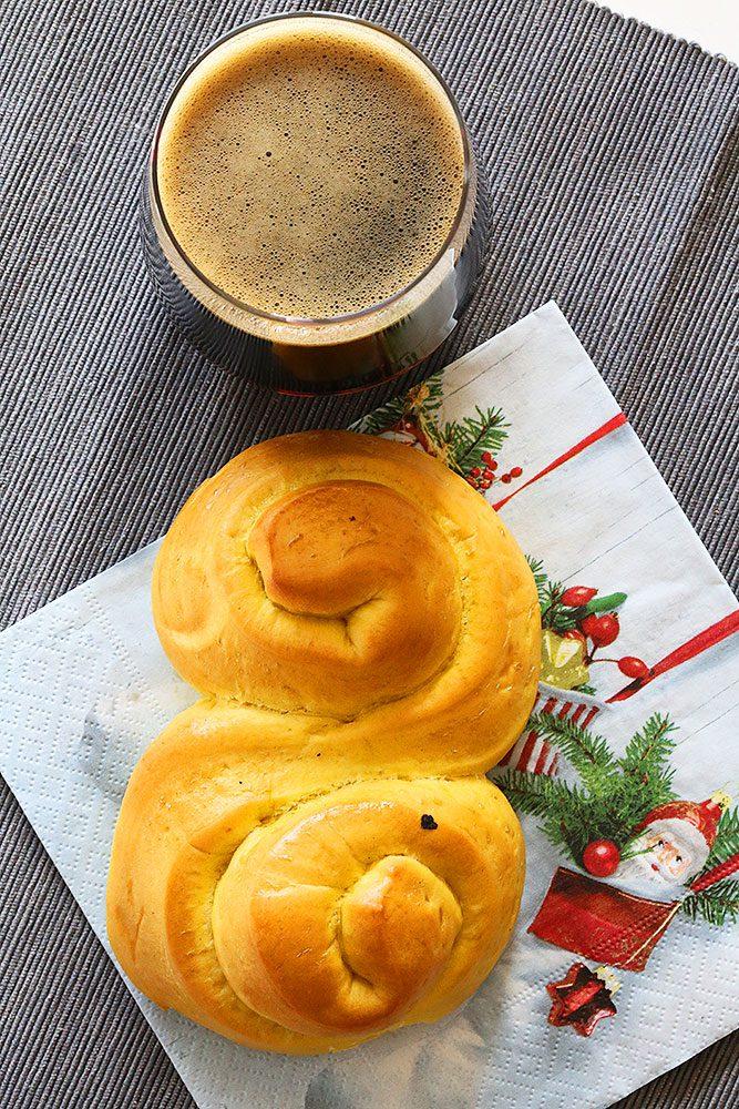 Lussebulle och abptekarnes julmust