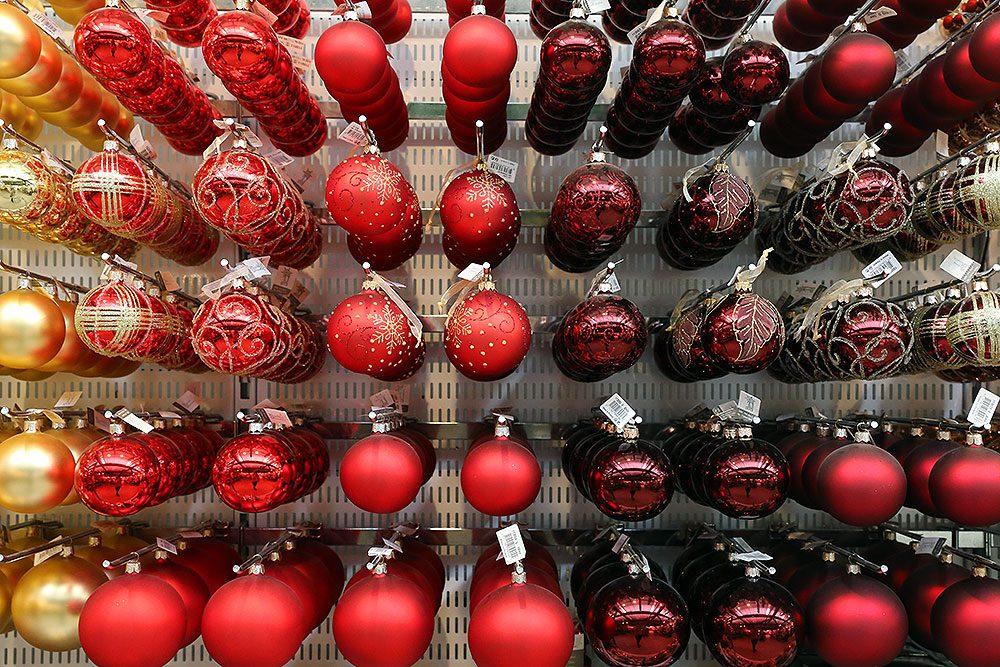 Julkulor i mängder på Vellingeblomman