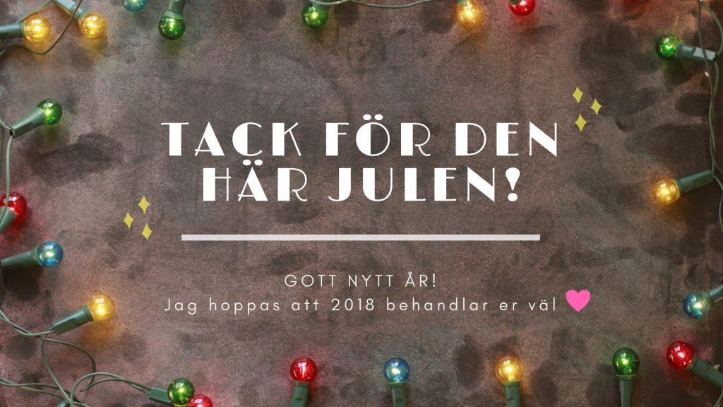 Tack för i år och gott nytt år!